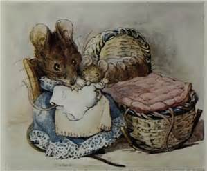 Beatrix Potter two bad mice