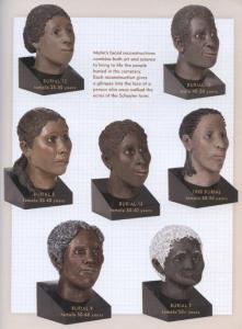 Slave cemetery faces Flatts