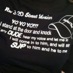 Rev 3:20 Street Version