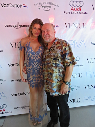 Nobody cares what you look like when you pose with a super model like Samantha Hoopes.