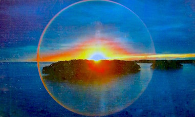 Sunset at Thunderball Grotto
