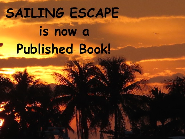 SAILING ESCAPE IS PUBLISHED!