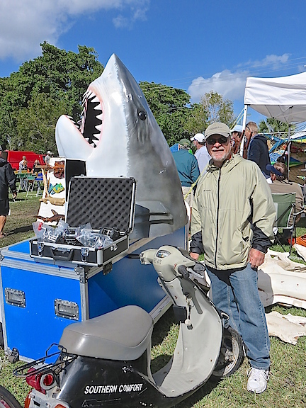 It's not often that you get the chance to buy a shark head replica.