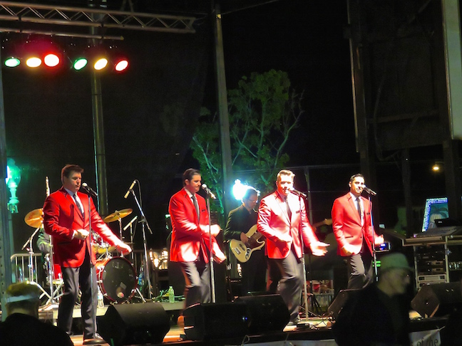 Let's Hang On performs America's #1 Frankie Valli Tribute Show and was a big hit.