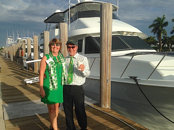 St. Patty's Party at Ft. Lauderdale Yacht Club