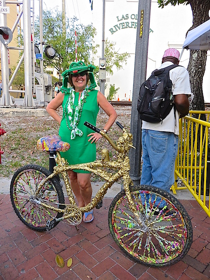 This bike is the epitome of pedaling art on the streets a