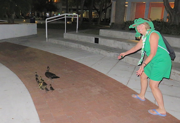 """""""Get out of the street, little duckies."""""""