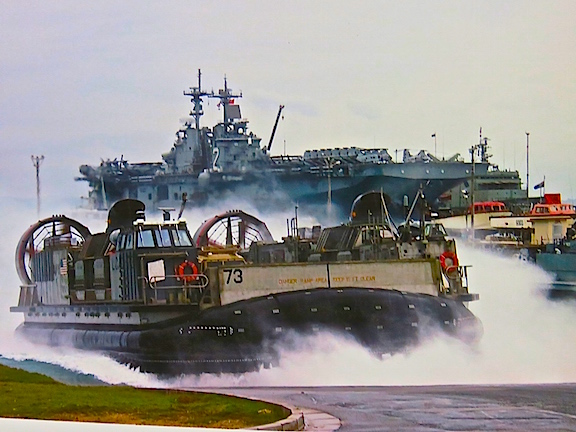 So when the Bataan pulls up to the beach, poops a couple of LCACs out the stern and head in full of tanks and warheads, you better hope it's not you they are coming for.