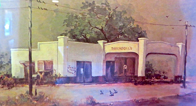 The cultural revolution of the 60's left it's mark on Threadgill's.