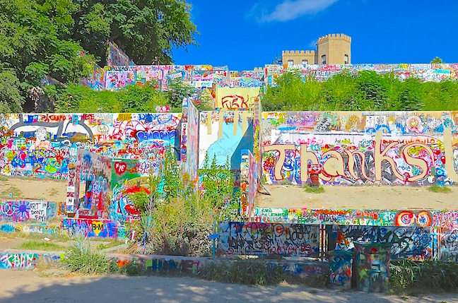 ELEVATING GRAFFITI