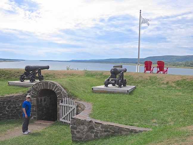 Fort Ann is Canada's oldest national historic site and is located near Annapolis Royal.
