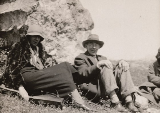 Virginia Woolf y Roger Fry