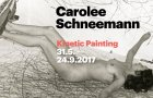 CAROLEE SCHNEEMANN. KINETIC PAINTING