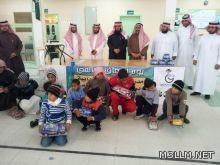 الدكتور العسكر يشرف احتفال مدرسة العذار بيوم الإعاقة