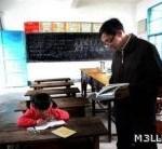 مدرسة تعمل بمدرس واحد وطالبة واحدة
