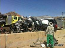 مصرع مشرف تربوي  في حادث مروع بالطائف