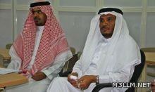 ريموت الطالب بفتح ابواب التعلم في ثانوية الملك فهد بالباحة