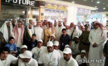 انخراط طلاب التربية الخاصة في أعمال البيع بخميس مشيط