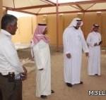 مدير تعليم نجران يقف على استعدادات المدارس