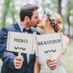 Les remerciements de mariage originaux