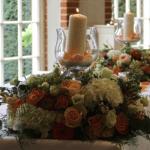 Compositions florales spéciales mariage