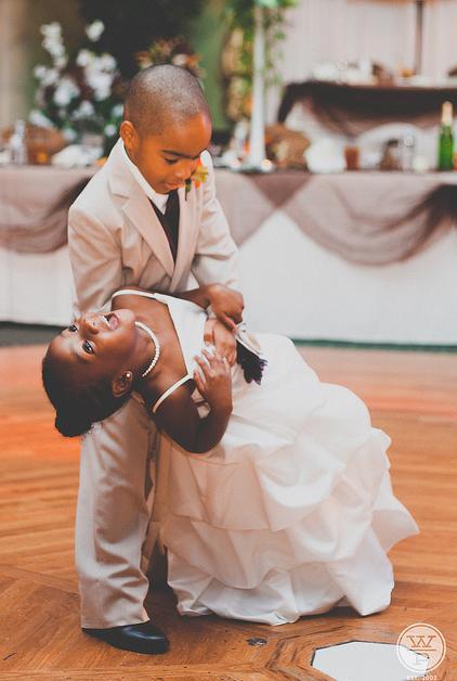 kid wedding