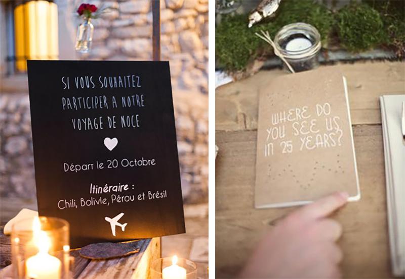 livre d'or et urne de mariage