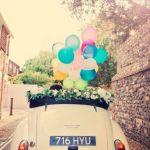 Le choix de la voiture des mariés