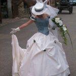 Gants et chapeaux de mariage, le couple parfait