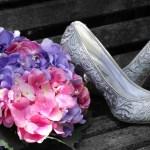 Chaussures de mariée d'hiver
