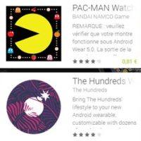 Fonds d'écran pour montres connectées Android Wear