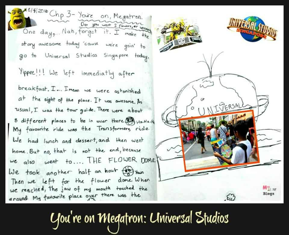 universal studios - singapore with kids