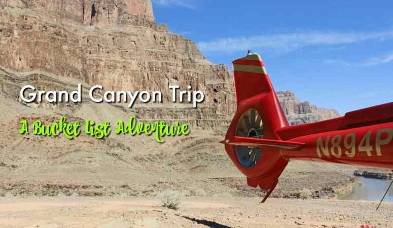 My Grand Canyon Trip: A Bucket List Adventure