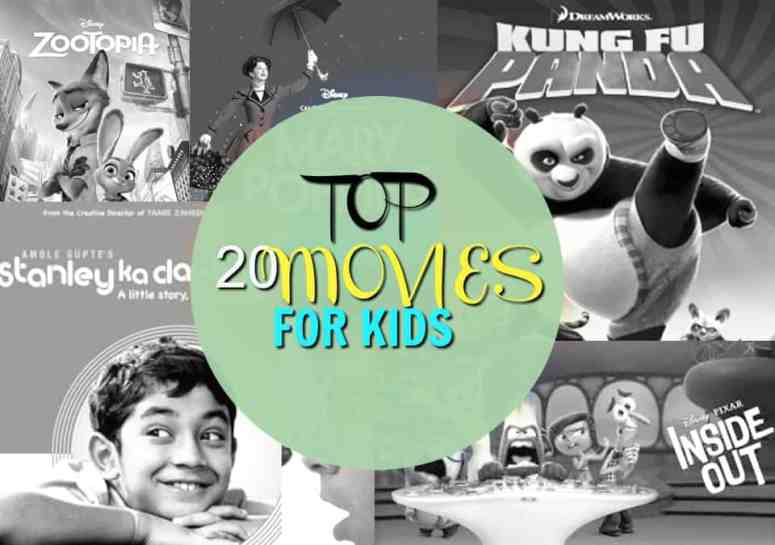 TOP 20 MOVIES FOR KIDS
