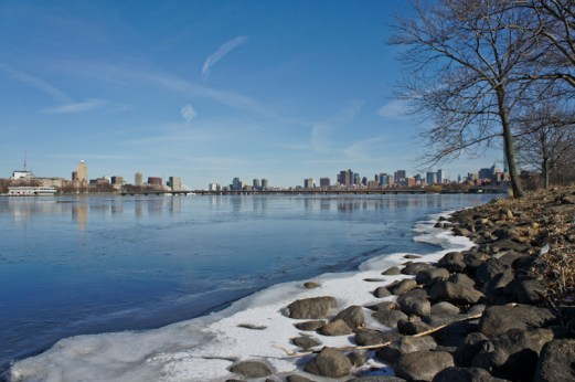 Charles river sans neige