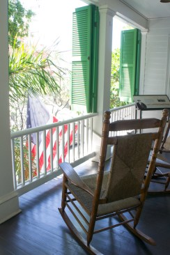 Balcon - Audubon House - Key West - Floride
