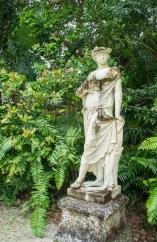 Villa Vizcaya - Coconut Grove - Miami -Floride - statue 1