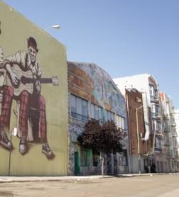 Fresque peinte mur - San Francisco - Californie