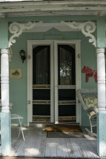 Jolie devanture de maison Gingerbread House à Oak Bluffs Martha's Vineyard