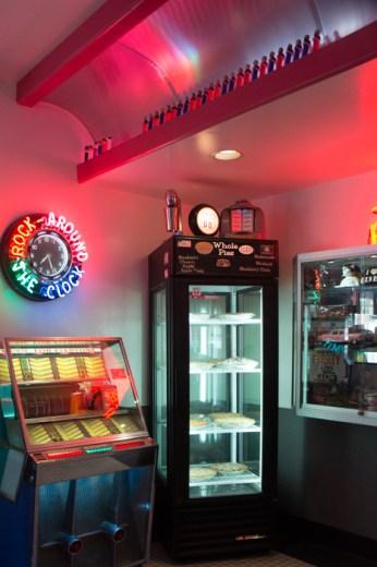 Juke box Diner 66 Route 66 Albuquerque Nouveau Mexique