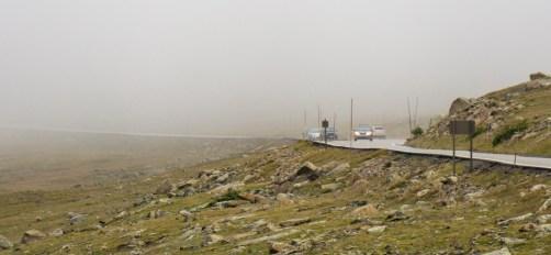Rocky Mountain National Park - Trail Ridge Road embrumée