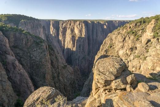 Black Canyon of the Gunnison - National Park - Colorado - road trip Etats-Unis - North Vista Trail 1