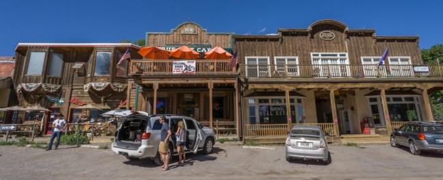 Colorado road trip - vintage shop dans le centre de Ridgway