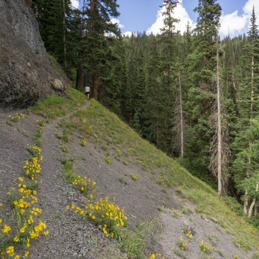 Colorado road trip - sur le chemin de randonnée 1