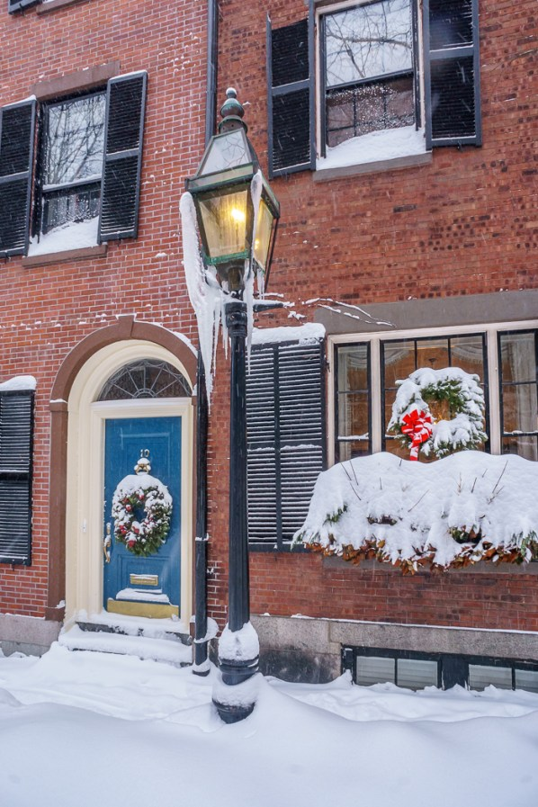 boston blizzard Beacon Hill