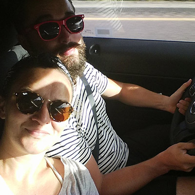 Road trip Mathilde et Manu