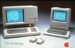 Apple Lisa and Apple Macintosh