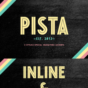 Creativemarket PISTA Inline and Black 112016 icon