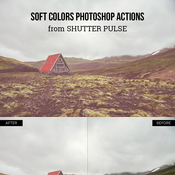 Creativemarket Soft Colors Photoshop Actions 141154 icon