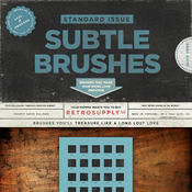 Creativemarket Standard Issue Texture Brushes 63793 icon